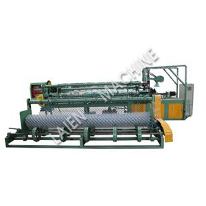 Full Automatic Double Spiral Wire Feeding Chain Link Fence Machine