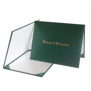 Diploma Of Graduation Diploma Cover Green
