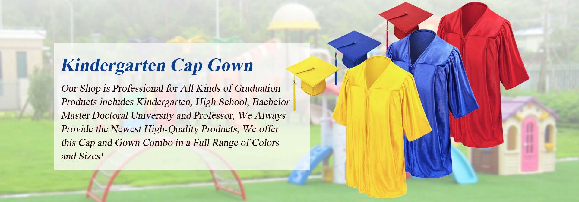 kindergarten cap gown