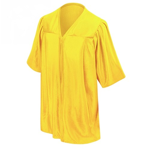 Kindergarten School Gold Shiny Graduation gown