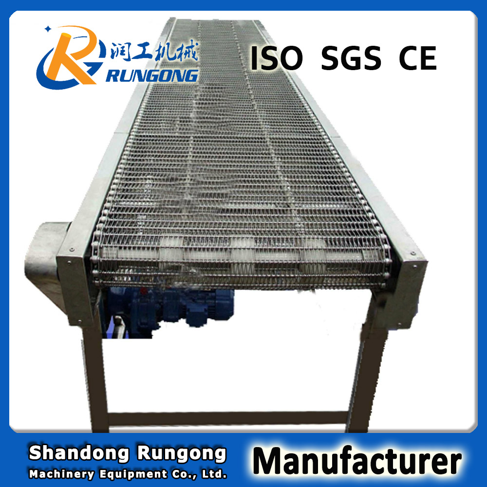 Mesh belt conveyor