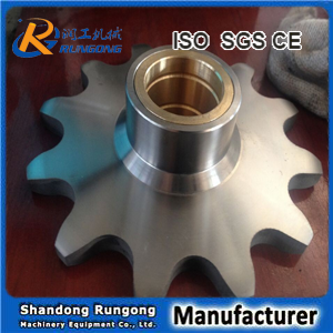 Conveyor roller chain sprocket