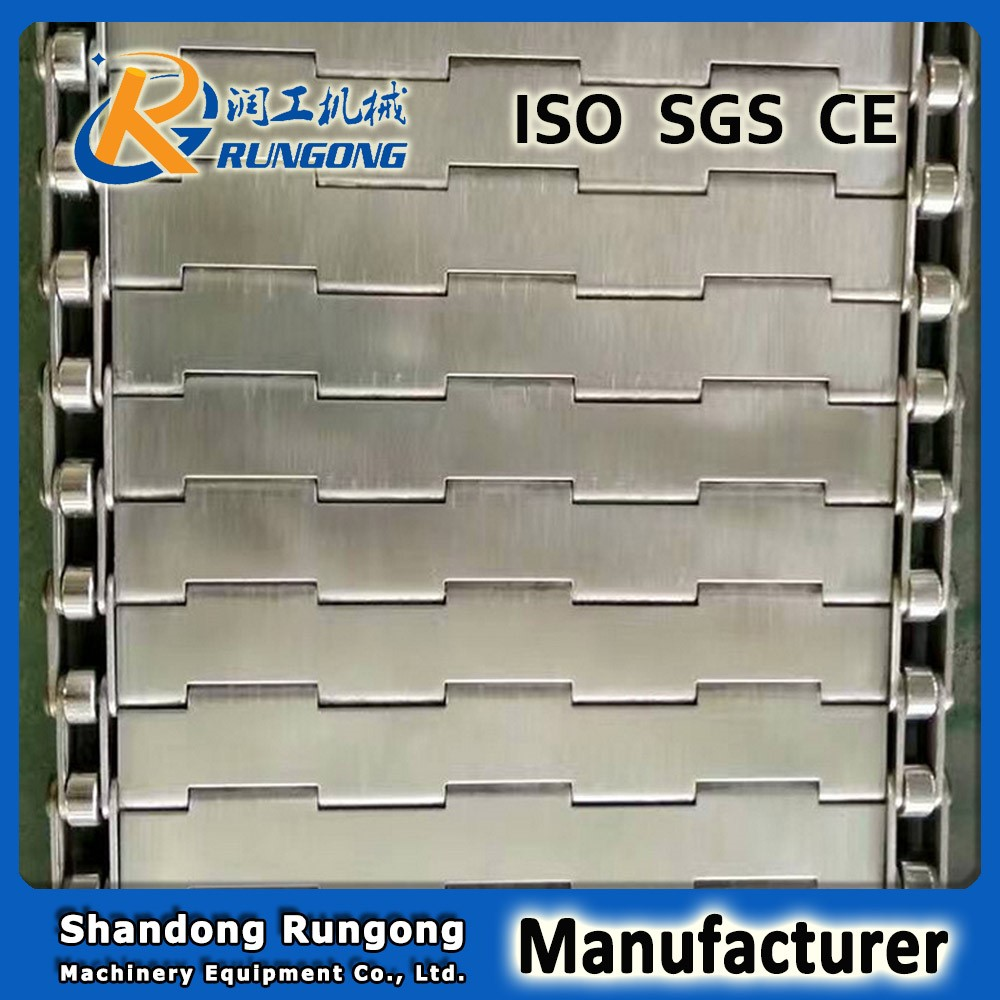 high quality slat conveyor belt