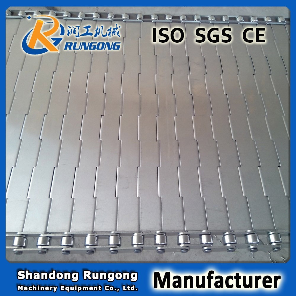 high quality hinged slat conveyor belt
