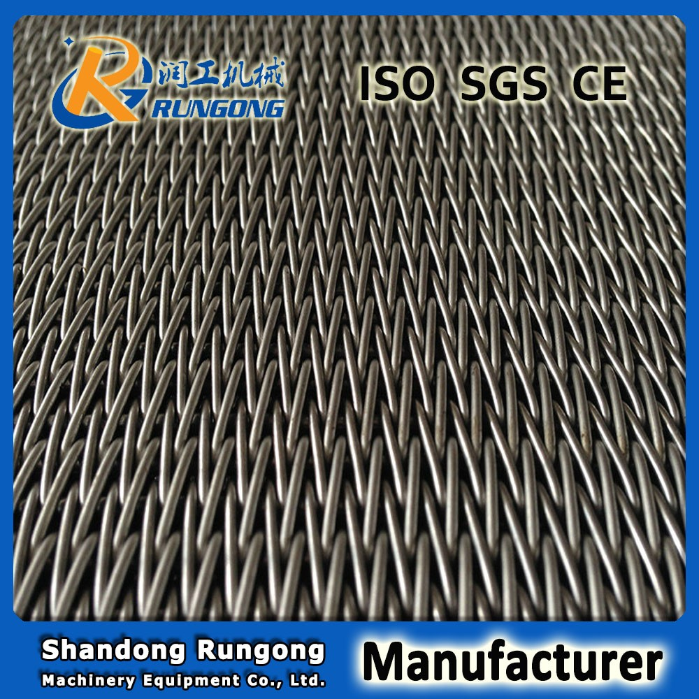 stainless steel woven wire conveyor belt