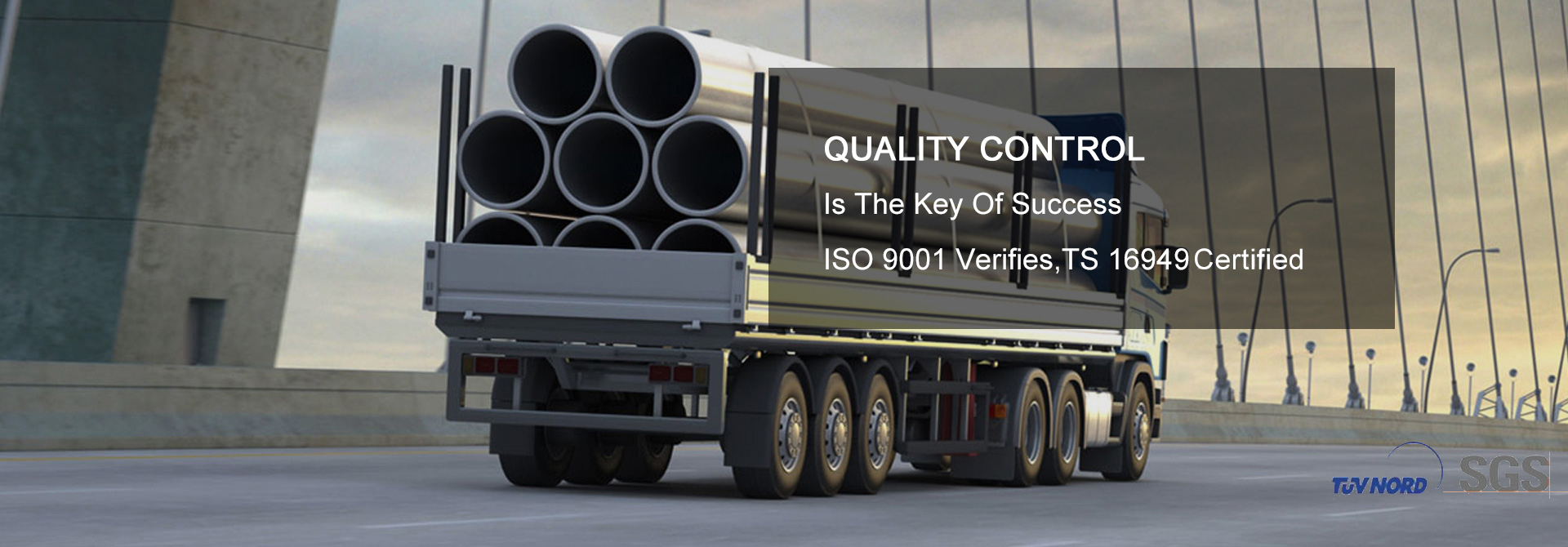 Quality Control Is The Key Of Success, ISO 9001 Verifies,TS 16949 Certified.