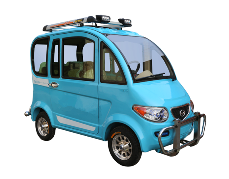 Closed Passenger Electric Auto Tricycle