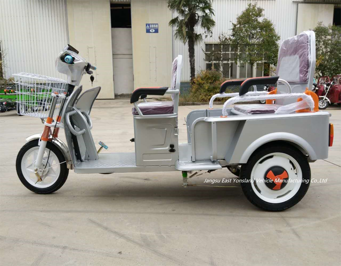 Cargo Tricycle With Passenger Seat for Elders