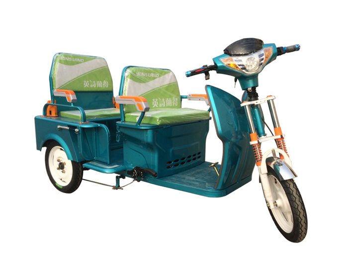 Electric 3 Wheel Vehicle With 2 Passenger Seat