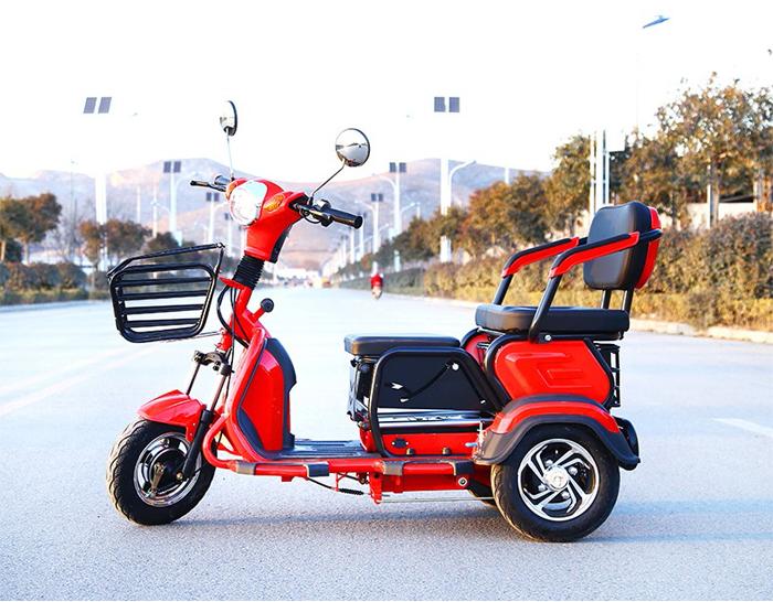 Folding 2 Seats Electric Trike