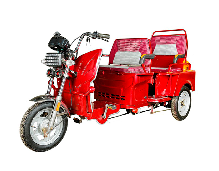 Folding Seats Battery Tricycle