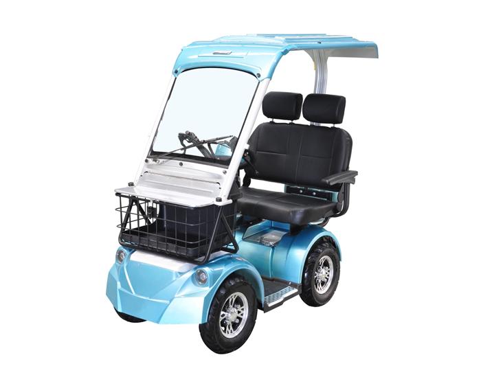 Smart 4 Wheels Electric Passenger Mini Scooter