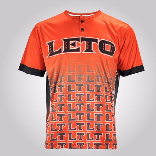 American Flag Blank Leather Dri Fit Wholesale Custom Cheap Baseball Jersey