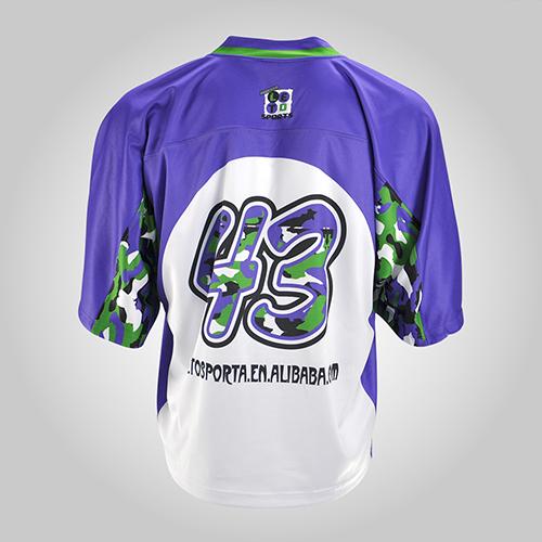 short sleeves lacrosse jersey