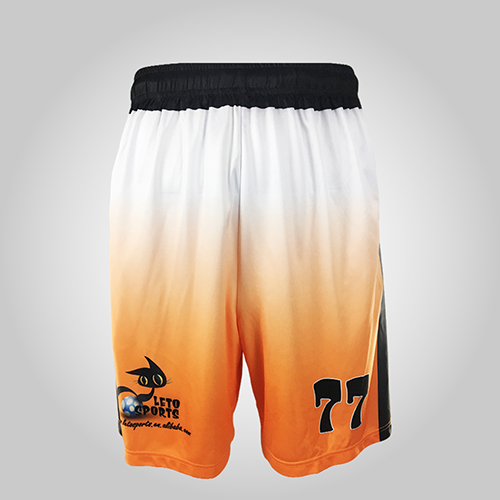 100% polyester lacrosse shorts