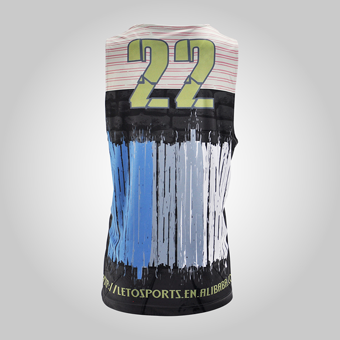 sublimated reversible tank top