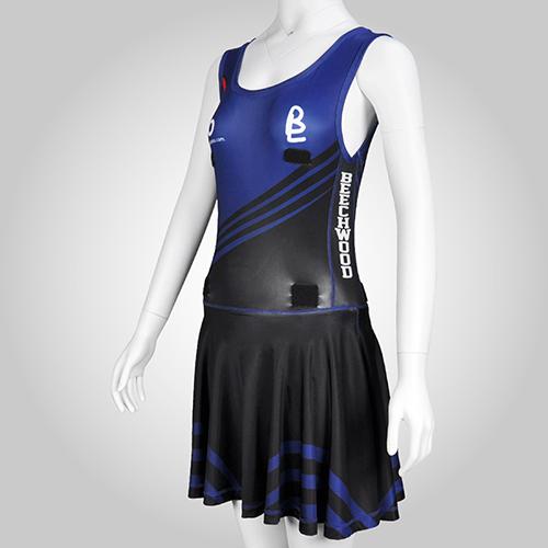 pattern netball dress