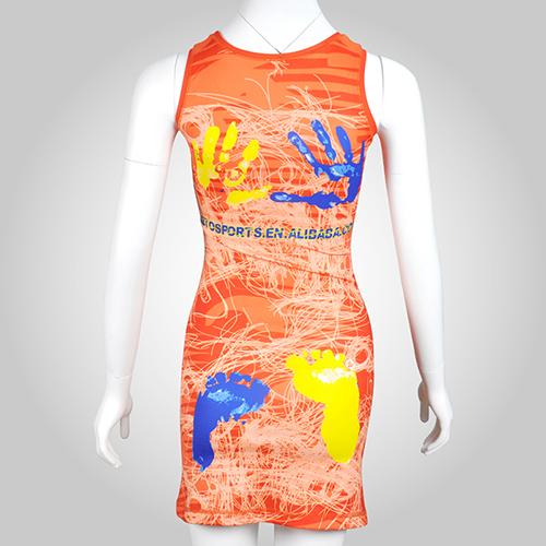 Sublimation Printting Netball Dress