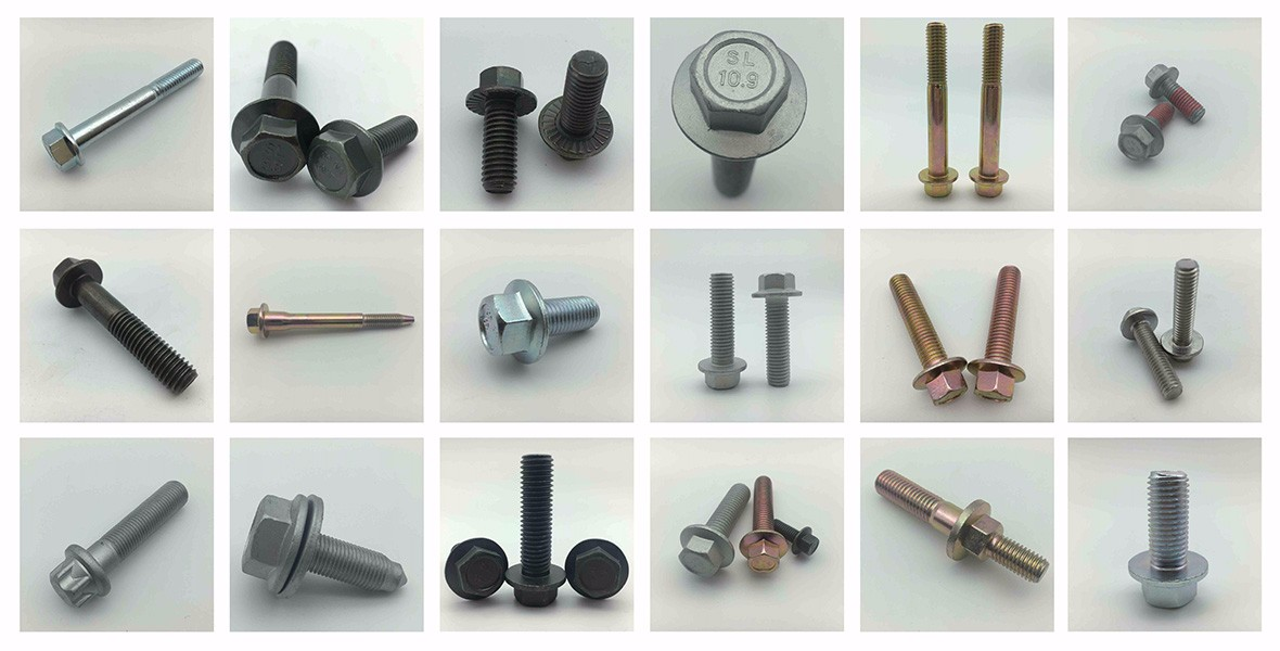 Hex Flange Bolt, Flange Screw, Screw