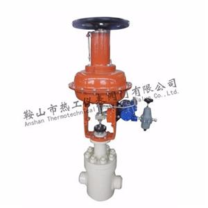 Pneumatic high pressure sleeve upper guide regulating valve