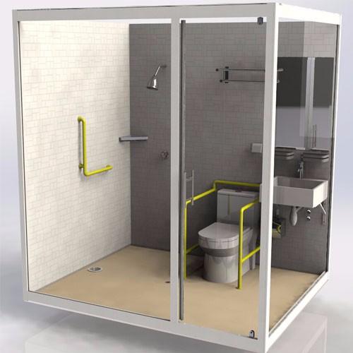 Hospital Prefabricated Bathroom