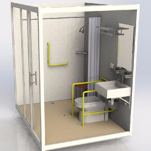 Retire Home Prefabricated Bathroom