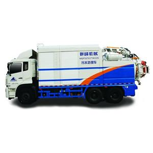 Sewage Treatment Vehicle Introduction