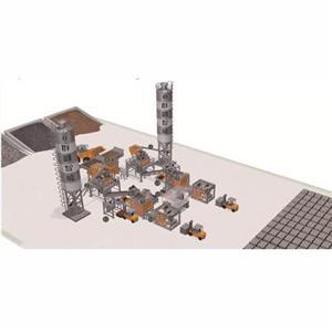 Double Line Simple Brick Making Production Line