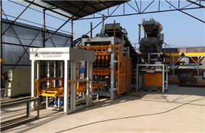 QFT8-15 Automatic Block Making Machine