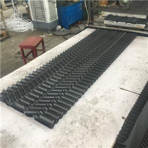 20mm channel cooling tower fill cross flow cooling tower infill PVC hanging FRP cooling tower infill