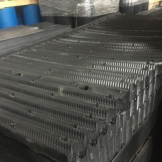Promotion Structured Trickling Filter Media PVC film filler Cooling tower filler