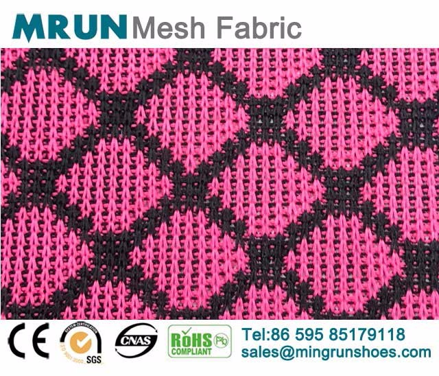 Rhombic Knit Mesh Fabric