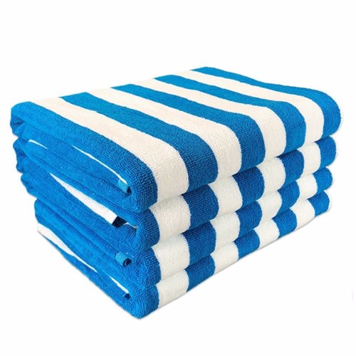 Cabana Striped Oversized Beach Towels