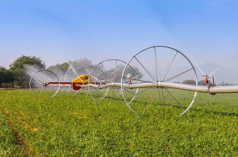 poweroll irrigation machine