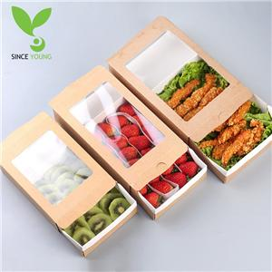 Environmentally-friendly pull-out paper lunch box