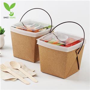 Handle takeaway packing box