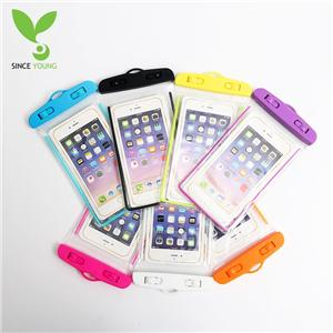 PVC waterproof cell phone pocket