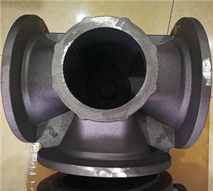 China iron foundry cast iron valve body