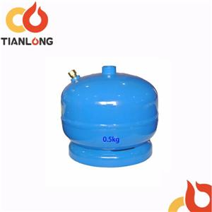 0.5kg Camping Small Lpg Cylinder
