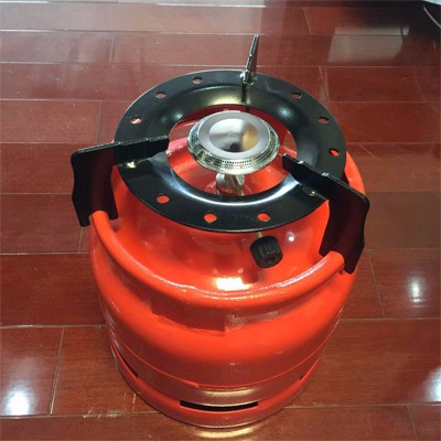 Home Cooking Lpg Gas Cylinder With Burner