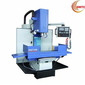 Cnc Milling Machine With Iso40 Spindle Taper