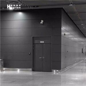 Steel Plate Interior Curtain Wall