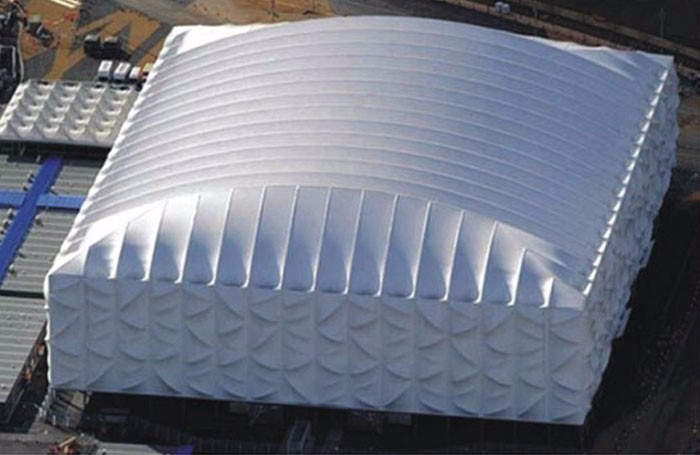 London Olympic Games Basketball Hall Project location using Hagrien SOPHIA Series A