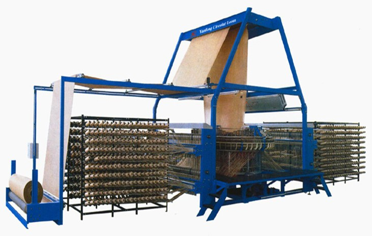 Big-sized Six Shuttle Circular Loom