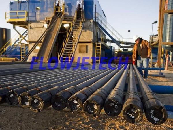 Oil Well Drill Pipe Cleaning