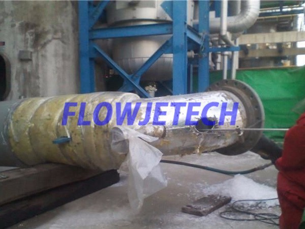 Paper Factory Drain Pipe Cleaning