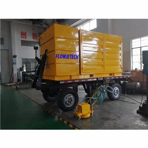 Road Marking Line Remove High Pressure Cleaner