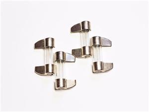 小叶片保险丝玻璃管