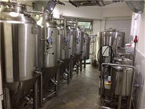 Outer Mongolia 300L equipment has begun to brew