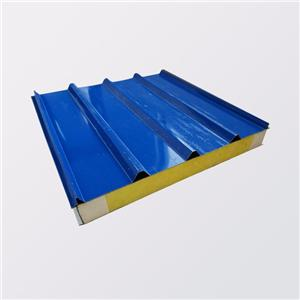Insulated metal roof panels